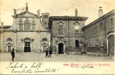 S.Maria del Carrobiolo in una vecchia cartolina