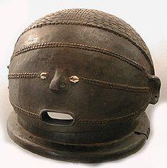 TABWA helmet mask, Democratic Republic of Congo (formerly Zaire)