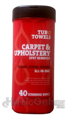 Remove those pesky spots and stains from carpets or upholstery in not time flat!