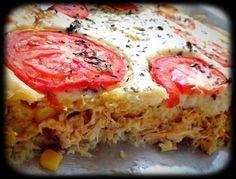 Receita de Torta de frango. Enviada por Nilvania Lima e demora apenas 40 minutos.