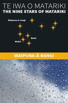 Te Iwa o Matariki Maori Words, Maori Symbols, Marine Plants, Pepper Tree, Winter Sky, The Nines, Early Childhood Education, Kiwi, Climate Change