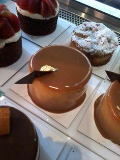 Mini cake de dulce de leche - Isabel Vermal