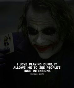 savage quotes 23 Joker quotes that will make you love him more (notitle) Joker Qoutes, Joker Frases, Best Joker Quotes, Badass Quotes, Dark Quotes, Wise Quotes, Mood Quotes, Attitude Quotes, Funny Quotes