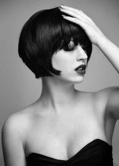 35 Short Stacked Bob Hairstyles | http://www.short-haircut.com/35-short-stacked-bob-hairstyles.html