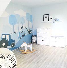 Nursery Wallpaper, Kids Wallpaper, Shared Baby Rooms, Ikea Stuva, Brothers Room, Ikea Kids Room, Happy Room, Inspiration For Kids, Decoration