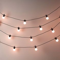 Indirect lighting, magic Bistro Bulb Fairy Lights (20 Bulbs) | The White Company