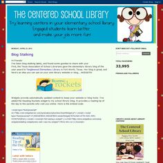 library centers - Here's another one, @Laura Jayson Shultz Curtis and @Gina Gab Solórzano de Villiers O'Neal