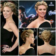 Excelente peinado sencillo pero a la vez elegante y sofisticado. Solo lucirlo basta.