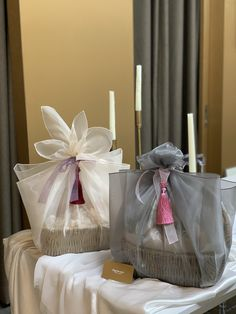 Bridal Gift Wrapping Ideas, Wedding Gift Baskets, Gift Wrapping Bows, Birthday Gift Wrapping, Gift Wraping, Wedding Gift Boxes, Creative Gift Wrapping, Diy Gift Box, Diy Gifts