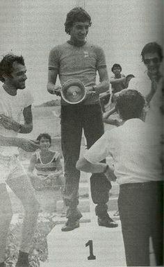 Ayrton Senna. Podim!