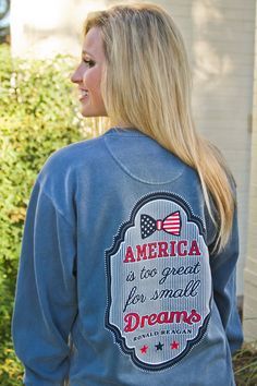 America is too great for small dreams by @jadelynnbrooke