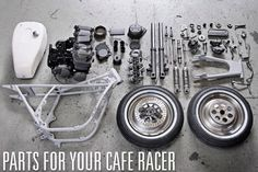 Best Cafe Racer Builds | Cafe Racer parts and accessories ~ Return of the Cafe Racers