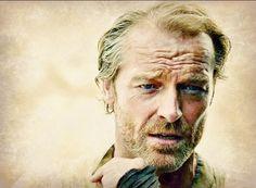 Game of Thrones: Beautiful Jorah-Lain Glen, look forward to next season, better not kill off my Jamie, or Jorah