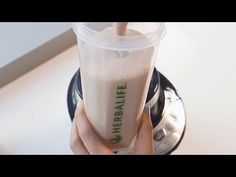 Watch and learn how to make a simple, yummy Herbalife Formula 1 shake. This easy-to-make shake uses only low-fat milk, ice, and Herbalife Formula 1 Nutrition. What Is Herbalife, Herbalife F1, Best Weight Loss Shakes, Detox, Nutritious Snacks, Healthy Foods, Health And Fitness Magazine, Carbonated Drinks, Health Articles