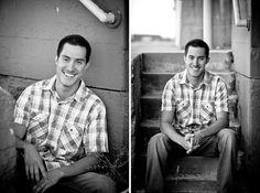 male senior portrait photography- urban    photo: kathryn colby