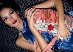 Recycled Silk Kimono Bag by Koi Girl
