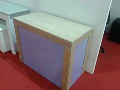 consolle/madia Ingenia,totalmente personalizzabile in finiture e colori,si estende ad un max di 300 cm...