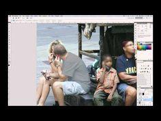 Photoshop Tutorial - Change White to Black naturally - YouTube