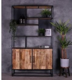 Dream Furniture, Fine Furniture, Wood Furniture, Furniture Design, Style At Home, Wood Lockers, Industrial House, Apartment Living, Home Fashion