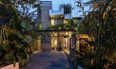 Merryn Road 40A, Aamer Architects, частные дома в Сингапуре, особняк в Сингапуре, бассейн на крыше дома, терраса на крыше дома, вертикальный сад