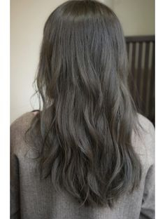 New Hair Color Dark Grey Makeup Ideas hair makeup 788552215985600805 Medium Ash Brown Hair, Grey Brown Hair, Brown Hair With Blonde Highlights, Blonde Hair Looks, Dark Grey, Brown Hair Korean, Korean Hair Color, Hair Color And Cut, Hair Color Dark