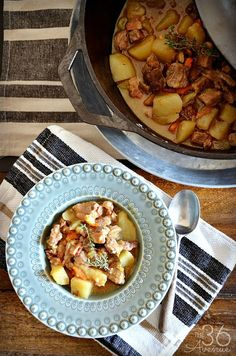 One-Pan Pork Stew is a thick, hearty, and savory recipe that will fill your kitchen with aromas that will make your mouth water. This one-pot dinner recipe will become your new weekly dinner dish.