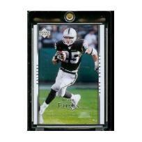 2007 Upper Deck # 138 Justin Fargas - NFL Football Card