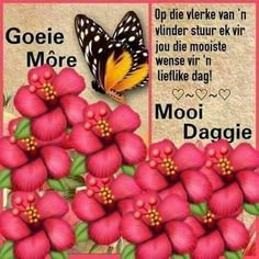 Good Morning Wishes, Good Morning Quotes, Lekker Dag, Afrikaanse Quotes, Goeie More, Morning Images, Wallpaper Quotes, Motivation, Cards