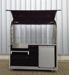 Flying Hot Dog Verkaufsstand : Verkaufsstände-RIBO GmbH Hot Dogs, Vendor Table