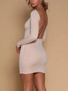 NUOVI Sandali Donna Sheer Mesh in Chiffon Scollo Profondo Body Body Top Manica Lunga Vestito