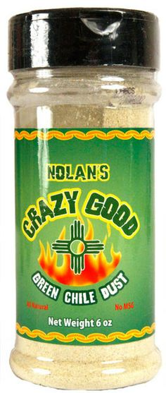 New Mexico Magazine Store - Crazy Good Green Chile Dust
