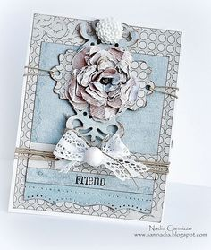 Friend card *Donna Salazar Designs* - Scrapbook.com