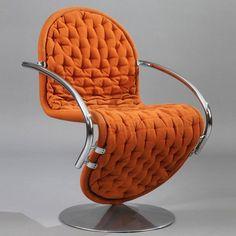 Fauteuil 1-2-3 System de Verner Panton pour Fritz Hansen - #chair #chairdesign #chairideas #design