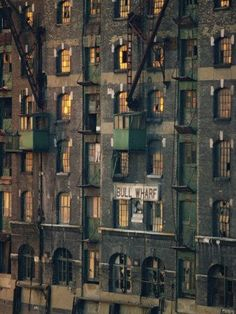 Photographic Print: Old Wharf Building at Dusk, Docklands Poster by Woolfitt Adam : Vintage London, Old London, London Pubs, London Docklands, East End London, London History, British History, London Architecture, London Places