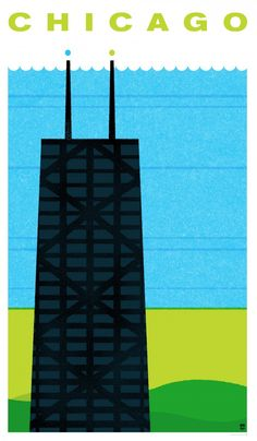 Chicago, Illinois - Travel Poster Series - The Heads of State