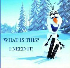 I can't resist Olaf or my Moonstruck 3D fiber lash mascara!  #christmas #magicmascara #stockingstuffers