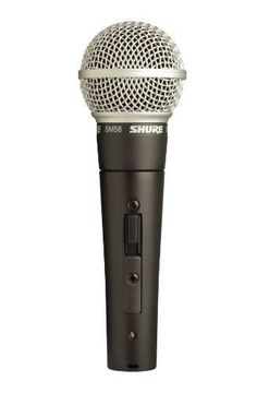 Shure SM58S Vocal Microphone (with On Off Switch) Shure SM58S Vocal Microphone Switch has a rating of above 4 stars and remains among the best online products in Musical Instruments category in USA. Click below to see its Availability and Price in YOUR country.