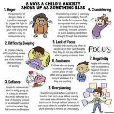 8 ways a child's anxiety shows up as something else- I think is important for child life specialists to recognize as well as parents. Knowing these could lead to intervention in helping a child reduce anxiety. Child Life Specialist, Kids Mental Health, Children Health, Understanding Anxiety, Understanding Depression, Anxiety In Children, Young Children, Anxiety In Toddlers, Mindfulness For Children
