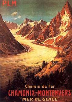 Vintage Travel and Tourism Ads of the (Page Ski Posters, Railway Posters, Travel Ads, Travel And Tourism, Vintage Ski, Vintage Travel Posters, Chamonix, France Travel, Photo Illustration