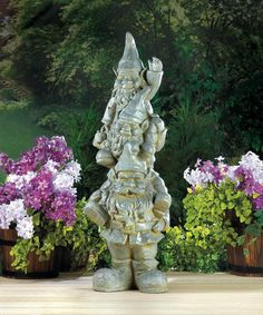 Garden Statue-Weather Stacked Gnomes