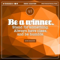 Be a winner. www.kodiseaton.com | #routinesnotresolutions #motivation #fitnessmotivation #fitnesslifestyle #fitlife #healthythoughts #healthandfitness #fitnessquote #motivational #quoteoftheday #healthylifestyle #fitnessblogger #gymmotivation #gymday #lifestyle #healthylife #healthybody #fitbody #healthquotes #healthydiet #fitnesstips #healthtips #fitnessaddict #fitnesscoach #healthcoach #fitnessinspiration #fitnessgoal #workoutmotivation