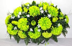 XL Artificial Silk Flower Cemetery Tombstone Grave Saddle Crazyboutdeco Cemetery Flowers