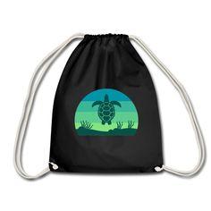 Geschenke Shop | Schildkröte - Turnbeutel Shops, Hai, Drawstring Backpack, Backpacks, Fashion, Sports Activities, Diving, Moda, Tents