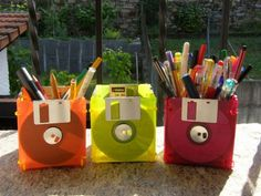 Floppy disks recycle... I will do it