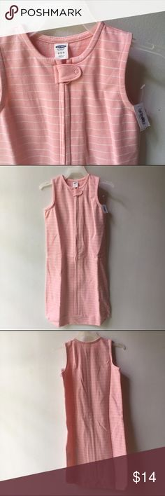 ⭕️ NWT Old Navy Pink Stripe Sleep Sack 6-12 mo New with Tag Old Navy pink striped lightweight cotton sleep-sack. 6-12 mo.  ⭕️ SALE ⭕️ 2 for $15  3 for $20  4 for $25  5 for $30  Any items marked ⭕️ are eligible! Bundle them up, MAKE OFFER! Select women's and baby clothing! 100+ listings!!! Old Navy Pajamas Sleep Sacks