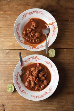Chocolate is an unexpected ingredient in this sumptuous stew. Pair it with Mexican rice, pinto beans, and tortillas for a satisfying supper.