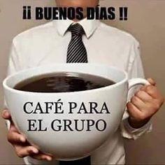 Café para el grupo!