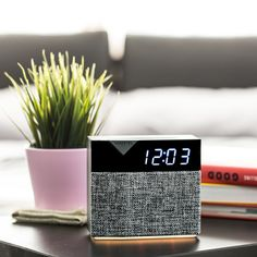 BEDDI Style - Intelligent Alarm Clock with Changeable Faceplate Radios, White Noise Generator, Bedside Clock, Best Alarm, Clock Tattoo Design, Classic Clocks, Clock Display, Digital Alarm Clock, Alarm Clocks