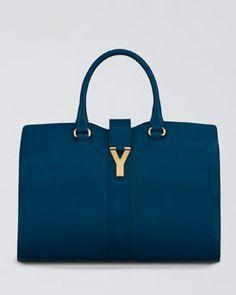 Cabas ChYc Tote Bag, Medium by Yves Saint Laurent at Bergdorf Goodman. Ysl Bag, Ysl Tote, Ysl Purse, Yves Saint Laurent, Everyday Bag, Medium Bags, Beautiful Bags, Beautiful Handbags, Luxury Bags