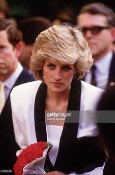Diana Princess of Wales visits the Children's Hospital on April 26... News Photo | Getty Images